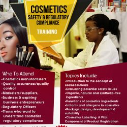 Register: Cosmetics Safety & Regulatory Compliance Training